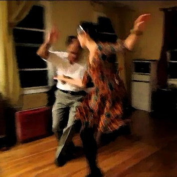 HM Larry & Emily dancing