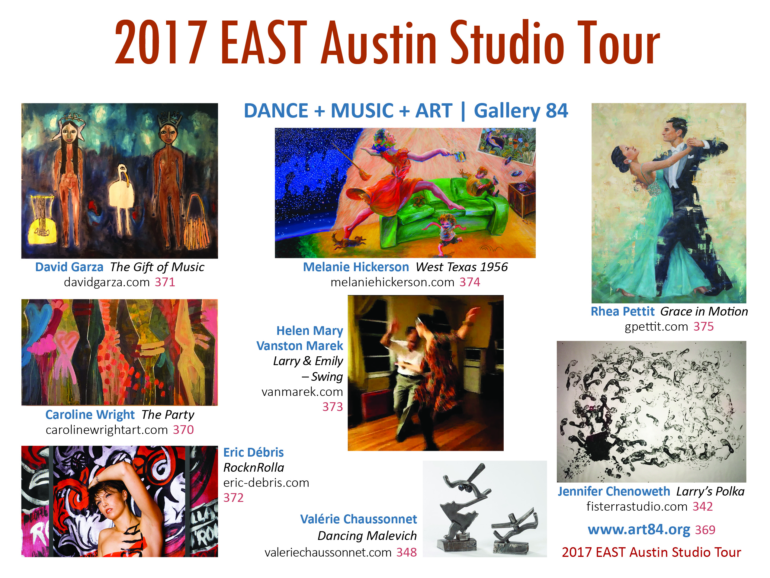 Art 84 Post Card 2017 with Header