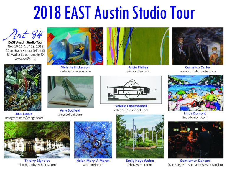 Art 84 Post Card 2018 with Header