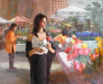 Flower Market - Eve Larson